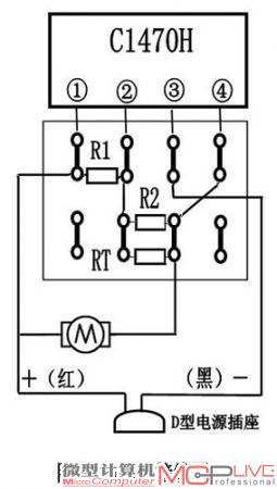 图4 电路板接线图